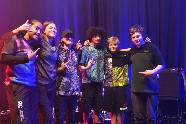 Tiare and the Young Guns - Winners of 2020 E Tū Whānau Rangatahi Song Competition