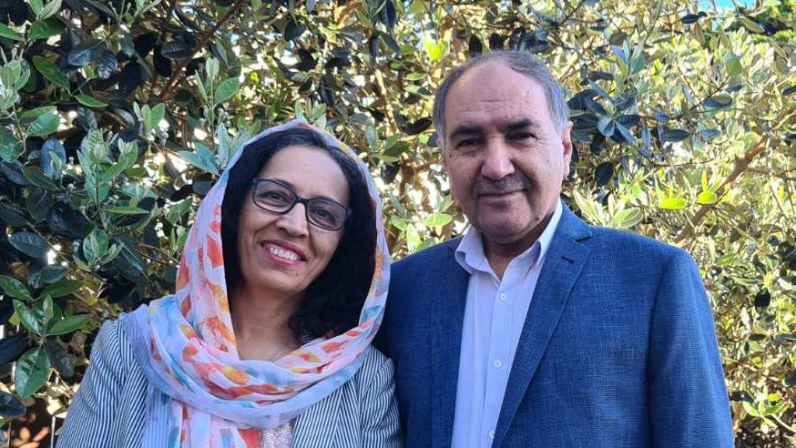 Arif and Fahima Saeid, E Tū Whānau kaimahi and leaders in the NEw Zealand Afghan Community